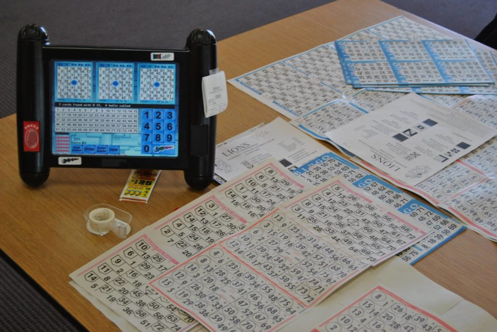 Bingo Tabs & Electronic Devices - Tri-Lakes Lions Club