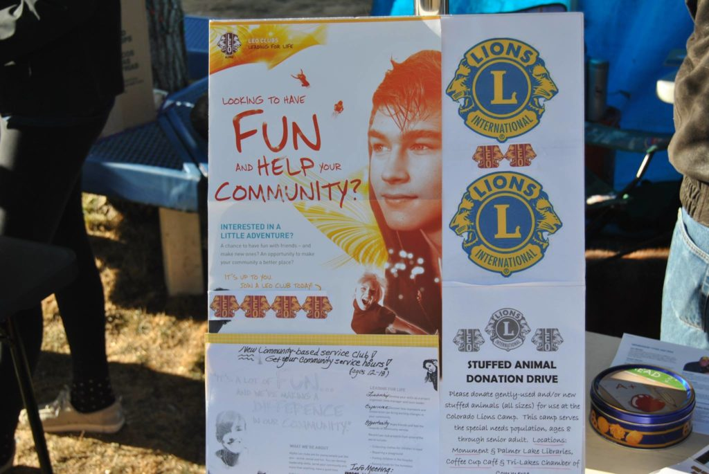 Tri-Lakes Lions LEO Club Flyer